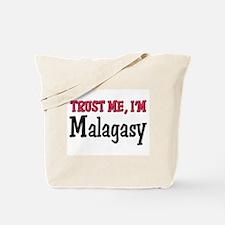 Trust Me I'm Malagasy Tote Bag