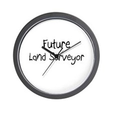 Future Land Surveyor Wall Clock