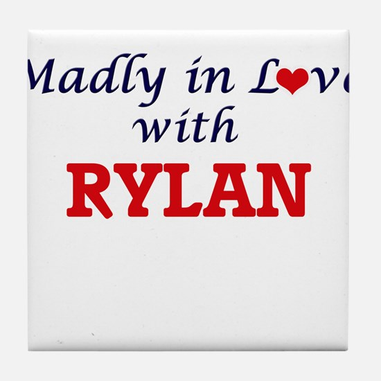 Madly in love with Rylan Tile Coaster