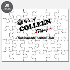 COLLEEN thing, you wouldn't understand Puzzle