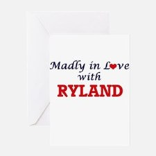 Madly in love with Ryland Greeting Cards