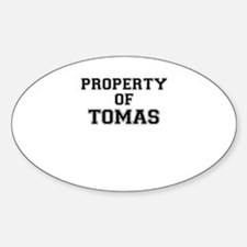 Property of TOMAS Decal