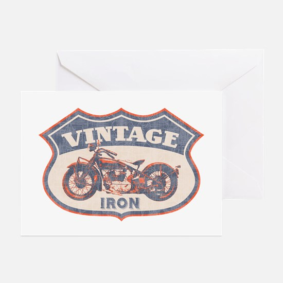 Vintage Iron Greeting Cards (Pk of 10)