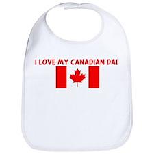 I LOVE MY CANADIAN DAD Bib