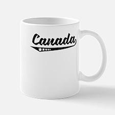 Canada Retro Logo Mugs