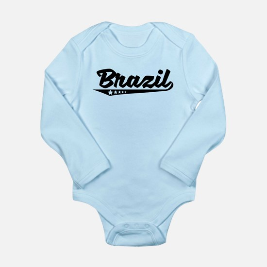 Brazil Retro Logo Body Suit