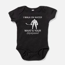 Ice Hockey designs Baby Bodysuit