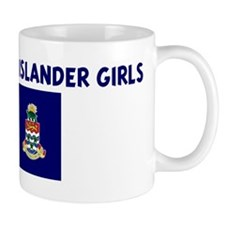 I LOVE CAYMAN ISLANDER GIRLS Mug