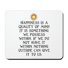 HAPPINESS.. Mousepad