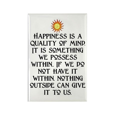 HAPPINESS.. Rectangle Magnet