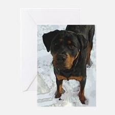 Unique Rottweiller Greeting Cards (Pk of 10)