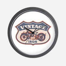Vintage Iron Wall Clock