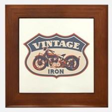 Vintage Iron Framed Tile