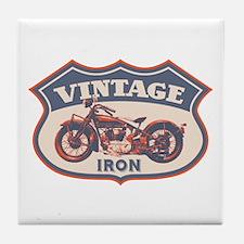 Vintage Iron Tile Coaster