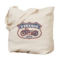 Vintage Iron Tote Bag