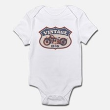 Vintage Iron Infant Bodysuit