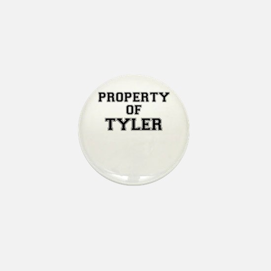 Property of TYLER Mini Button
