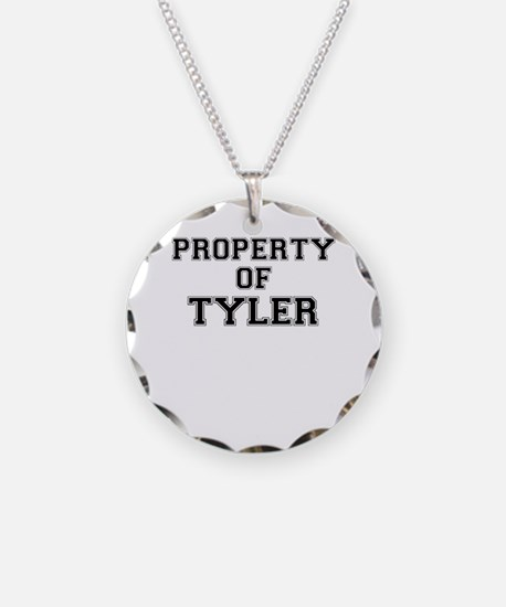 Property of TYLER Necklace