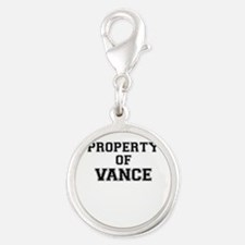 Property of VANCE Charms