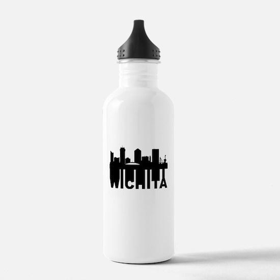Roots Of Wichita KS Skyline Water Bottle