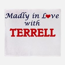 Madly in love with Terrell Throw Blanket