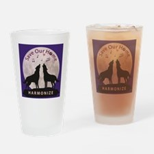 Unique Harmonize Drinking Glass