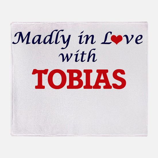Madly in love with Tobias Throw Blanket