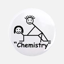 """Chemistry"" 3.5"" Button"