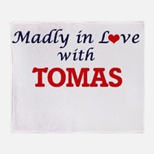 Madly in love with Tomas Throw Blanket