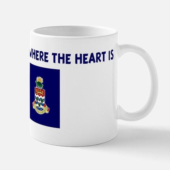 CAYMAN ISLANDS IS WHERE THE H Mug