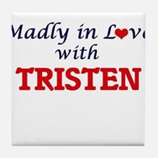 Madly in love with Tristen Tile Coaster