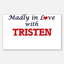 Madly in love with Tristen Decal
