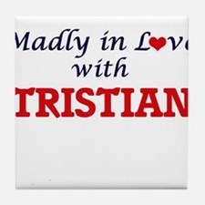 Madly in love with Tristian Tile Coaster