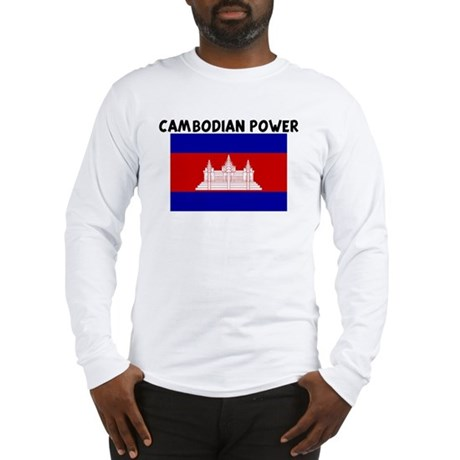 CAMBODIAN POWER Long Sleeve T-Shirt