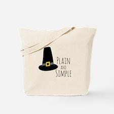 Plain Pilgrim Tote Bag