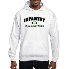 Infantry: Grunt Thing Jumper Hoodie