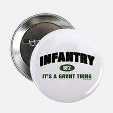 """Infantry: Grunt Thing 2.25"""" Button"""