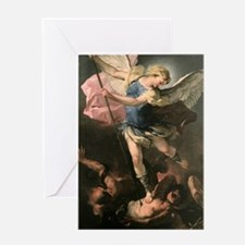 Cool Michael archangel Greeting Card