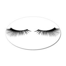 Eyelashes Wall Sticker