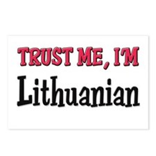 Trust Me I'm Lithuanian Postcards (Package of 8)