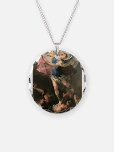 Archangel Saint Michael - L Necklace