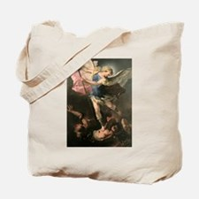 Archangel Saint Michael - Luca Giordano Tote Bag