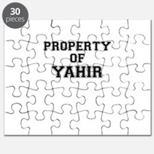 Property of YAHIR Puzzle