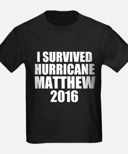 I Survived Hurricane Matthew 2016 T-Shirt