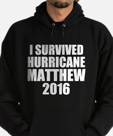 I Survived Hurricane Matthew 2016 Hoodie