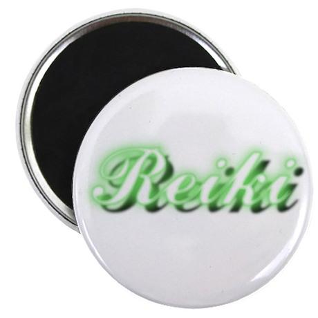 Reiki (Neon Green) Magnet
