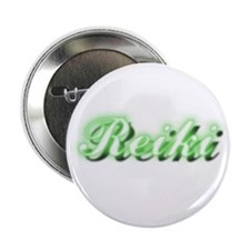 "Reiki (Neon Green) 2.25"" Button"