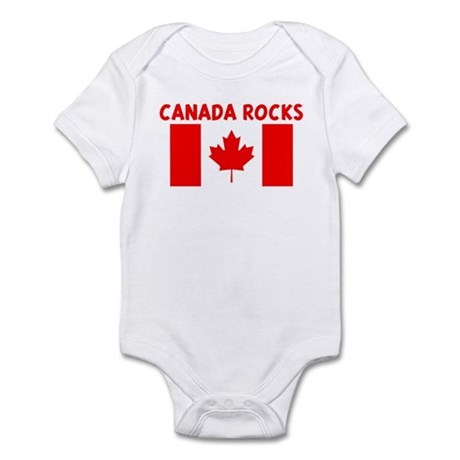 CANADA ROCKS Infant Bodysuit
