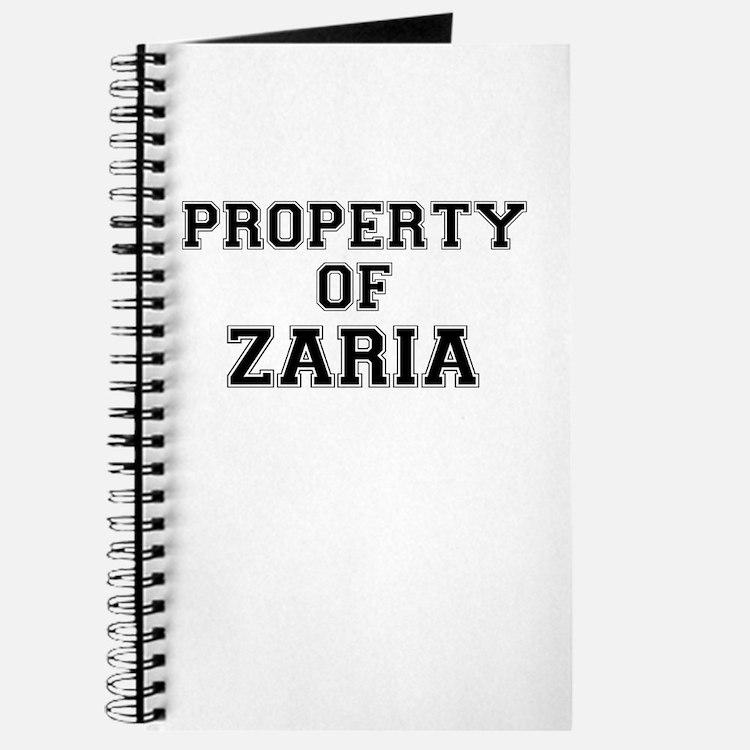 Property of ZARIA Journal
