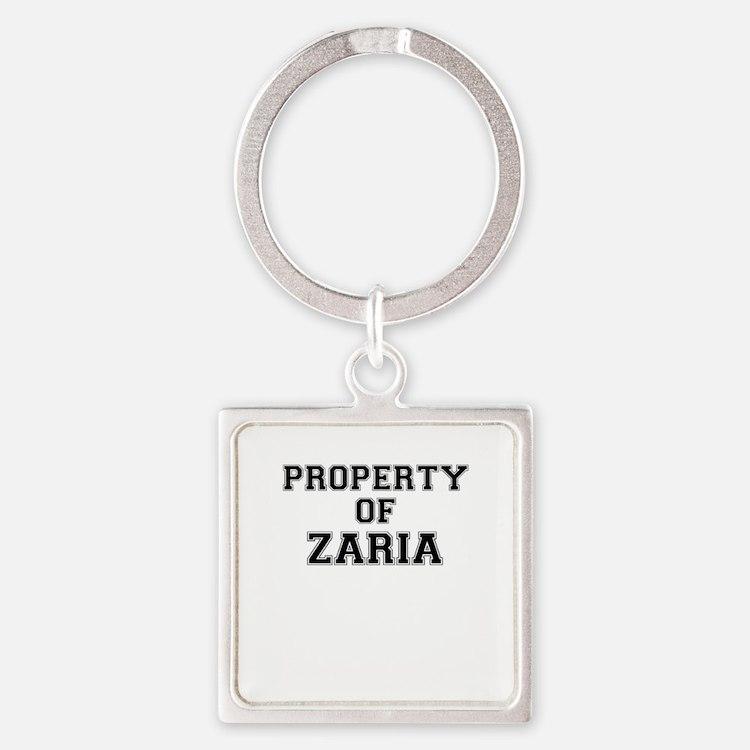 Property of ZARIA Keychains